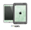 The Vintage Grungy Green Surface Skin for the Apple iPad Mini LifeProof Case
