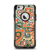 The Vintage Hand-Painted Coral Abstract Pattern Apple iPhone 6 Otterbox Commuter Case Skin Set