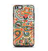 The Vintage Hand-Painted Coral Abstract Pattern Apple iPhone 6 Plus Otterbox Symmetry Case Skin Set