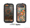 The Vintage Hand-Painted Coral Abstract Pattern Skin For The Samsung Galaxy S3 LifeProof Case