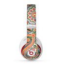 The Vintage Hand-Painted Coral Abstract Pattern Skin for the Beats by Dre Studio (2013+ Version) Headphones