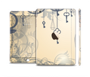 The Vintage Hanging Clocks and Keys Full Body Skin Set for the Apple iPad Mini 3