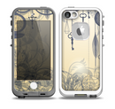 The Vintage Hanging Clocks and Keys Skin for the iPhone 5-5s fre LifeProof Case