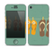 The Vintage Hanging Flip-Flops Skin for the Apple iPhone 4-4s