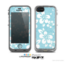 The Vintage Hawaiian Floral Skin for the Apple iPhone 5c LifeProof Case
