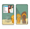 The Vintage His & Her Flip Flops Beach Scene Skin For The Apple iPod Classic