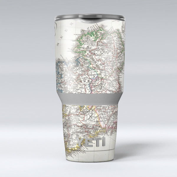 The_Vintage_Ireland_Map_-_Yeti_Rambler_Skin_Kit_-_30oz_-_V1.jpg
