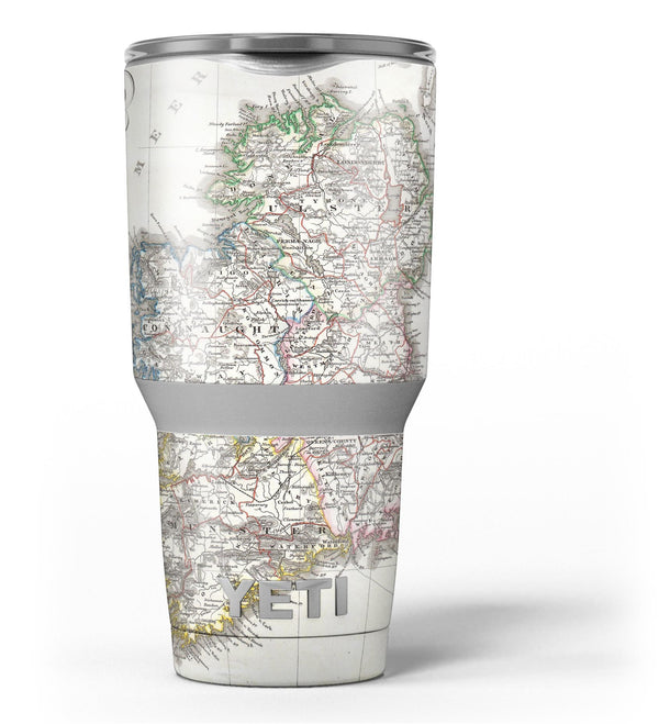 The_Vintage_Ireland_Map_-_Yeti_Rambler_Skin_Kit_-_30oz_-_V3.jpg