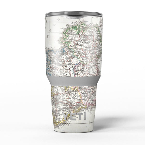 The_Vintage_Ireland_Map_-_Yeti_Rambler_Skin_Kit_-_30oz_-_V5.jpg