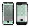 the vintage light green polka dot with white strip copy  iPhone 6/6s Plus LifeProof Fre POWER Case Skin Kit