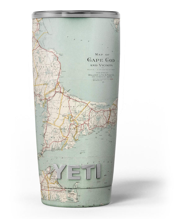 The_Vintage_Map_of_Cape_Cod_-_Yeti_Rambler_Skin_Kit_-_20oz_-_V3.jpg