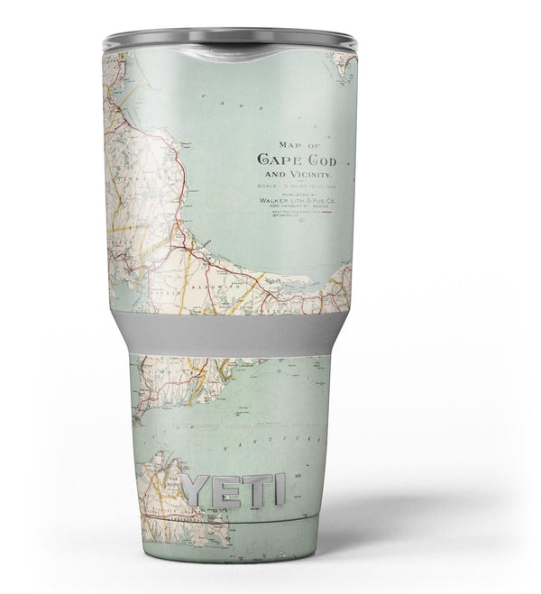 The_Vintage_Map_of_Cape_Cod_-_Yeti_Rambler_Skin_Kit_-_30oz_-_V3.jpg
