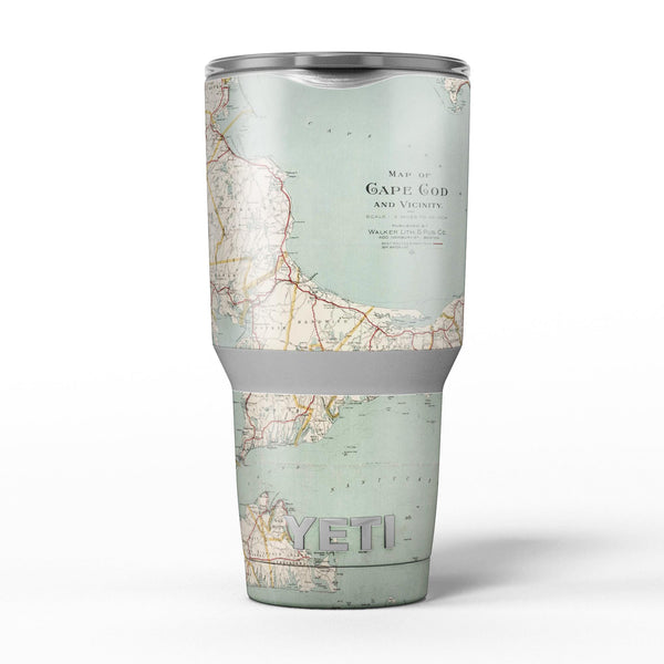 The_Vintage_Map_of_Cape_Cod_-_Yeti_Rambler_Skin_Kit_-_30oz_-_V5.jpg
