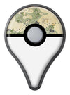 The Vintage Map of Pirate Islands Pokémon GO Plus Vinyl Protective Decal Skin Kit