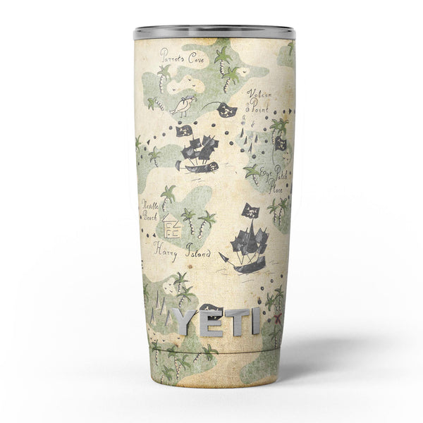 The_Vintage_Map_of_Pirate_Islands_-_Yeti_Rambler_Skin_Kit_-_20oz_-_V5.jpg
