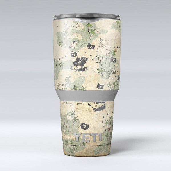 The_Vintage_Map_of_Pirate_Islands_-_Yeti_Rambler_Skin_Kit_-_30oz_-_V1.jpg