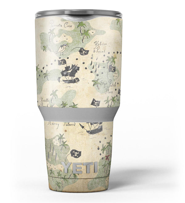 The_Vintage_Map_of_Pirate_Islands_-_Yeti_Rambler_Skin_Kit_-_30oz_-_V3.jpg