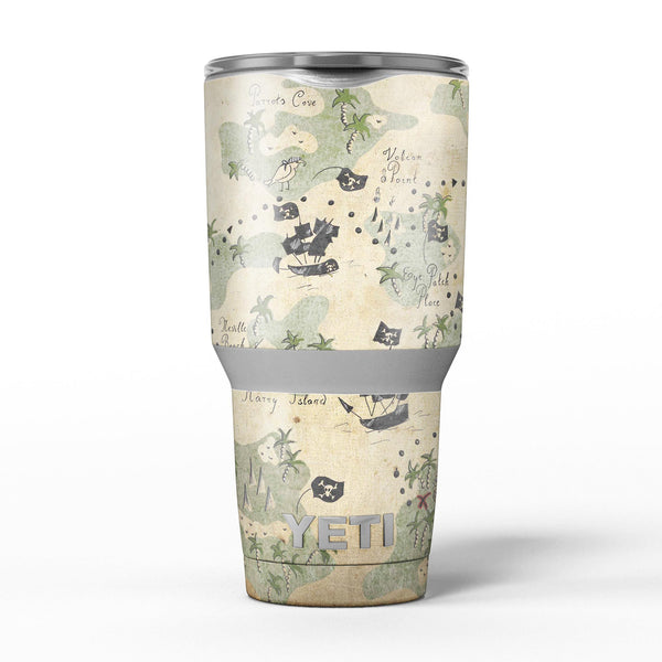The_Vintage_Map_of_Pirate_Islands_-_Yeti_Rambler_Skin_Kit_-_30oz_-_V5.jpg