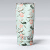 The_Vintage_Mint_Floral_Hummingbird_-_Yeti_Rambler_Skin_Kit_-_20oz_-_V1.jpg