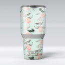 The_Vintage_Mint_Floral_Hummingbird_-_Yeti_Rambler_Skin_Kit_-_30oz_-_V1.jpg
