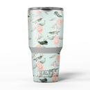 The_Vintage_Mint_Floral_Hummingbird_-_Yeti_Rambler_Skin_Kit_-_30oz_-_V5.jpg