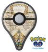 The Vintage Mirroring Hemispheres Pokémon GO Plus Vinyl Protective Decal Skin Kit