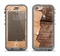 The Vintage Paper-Wrapped Wood Planks Apple iPhone 5c LifeProof Nuud Case Skin Set