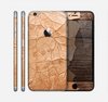 The Vintage Paper-Wrapped Wood Planks Skin for the Apple iPhone 6 Plus