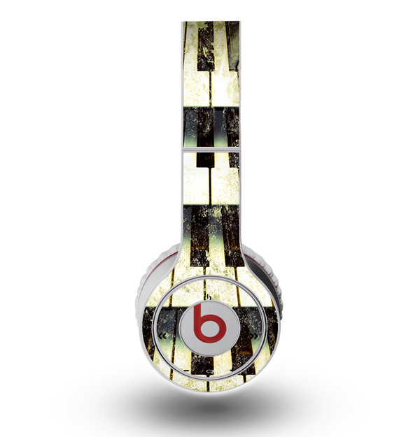 The Vintage Pianos Keys Skin for the Original Beats by Dre Wireless Headphones