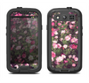 The Vintage Pink Floral Field Samsung Galaxy S3 LifeProof Fre Case Skin Set