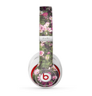 The Vintage Pink Floral Field Skin for the Beats by Dre Studio (2013+ Version) Headphones