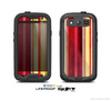 The Vintage Red & Yellow Grunge Striped Skin For The Samsung Galaxy S3 LifeProof Case