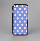 The Vintage Scratched Pink & Purple Polka Dots Skin-Sert for the Apple iPhone 6 Skin-Sert Case