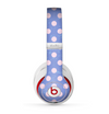 The Vintage Scratched Pink & Purple Polka Dots Skin for the Beats by Dre Studio (2013+ Version) Headphones