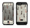 the vintage solid cat shadows  iPhone 6/6s Plus LifeProof Fre POWER Case Skin Kit