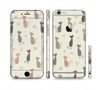 The Vintage Solid Cat Shadows Sectioned Skin Series for the Apple iPhone 6 Plus
