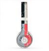 The Vintage Solid Color Anchor Collage All Skin for the Beats by Dre Solo 2 Headphones