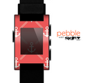 The Vintage Solid Color Anchor Collage V3 Skin for the Pebble SmartWatch