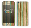 The Vintage Solor Striped V3 Skin for the Apple iPhone 5c