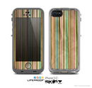 The Vintage Solor Striped V3 Skin for the Apple iPhone 5c LifeProof Case