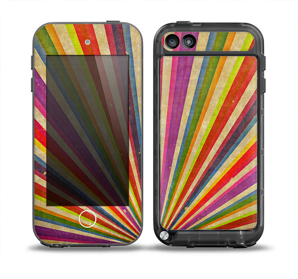 The Vintage Sprouting Ray of colors Skin for the iPod Touch 5th Generation frē LifeProof Case