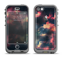 The Vintage Stormy Sky Apple iPhone 5c LifeProof Nuud Case Skin Set