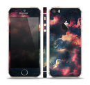 The Vintage Stormy Sky Skin Set for the Apple iPhone 5s