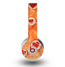 The Vintage Subtle Red and Orange Hearts Skin for the Original Beats by Dre Wireless Headphones