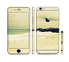 The Vintage Subtle Yellow Beach Scene Sectioned Skin Series for the Apple iPhone 6s Plus