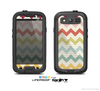 The Vintage Summer Colored Chevron V4 Skin For The Samsung Galaxy S3 LifeProof Case