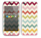 The Vintage Summer Colored Chevron V4 Skin for the Apple iPhone 5c