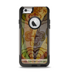 The Vintage Swirled Colorful Pattern Apple iPhone 6 Otterbox Commuter Case Skin Set