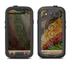 The Vintage Swirled Colorful Pattern Samsung Galaxy S3 LifeProof Fre Case Skin Set