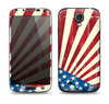 The Vintage Tan American Flag Skin For The Samsung Galaxy S4